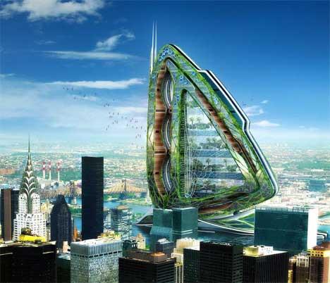 Geleceğin binaları