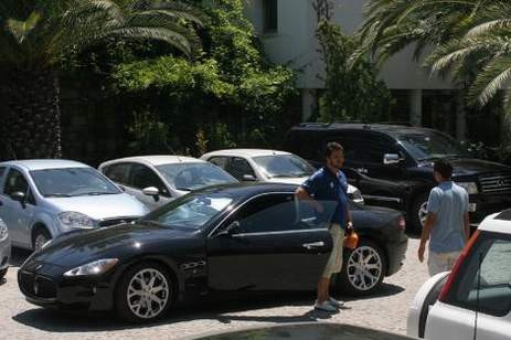 Bodruma Maserati ile döndü