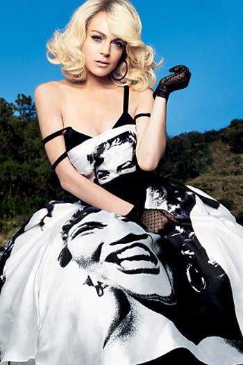 Lindsay Marilyn Monroe oldu