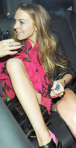 Lindsay Lohan şaşırttı