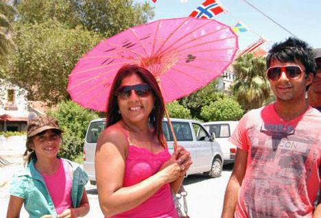 Antalya sıcakla boğuşuyor