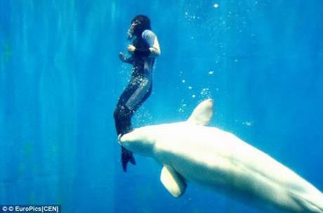 Balina dalgıcı böyle kurtardı