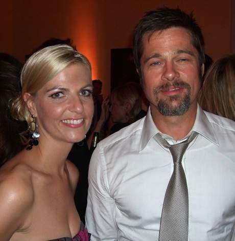 Brad Pitt sarhoş !