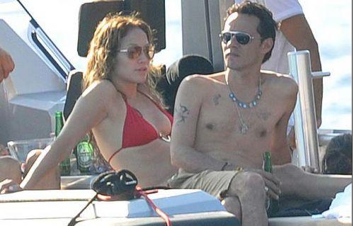 Jennifer Lopez tatilde