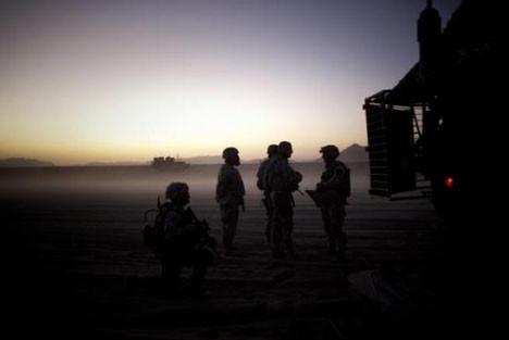 Afgan çocuklarının korkusu