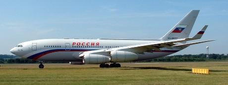 Putinin uçan sarayı