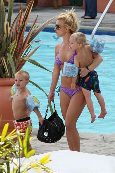 Britney Spears tatilde