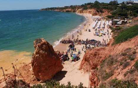 Portekiz'de falez faciası