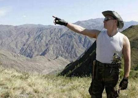 Vladimir Putini hiç böyle görmediniz !