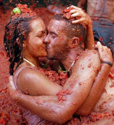 İspanyolların domates savaşı