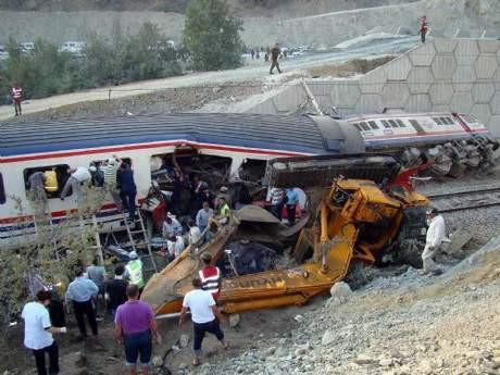 Bozüyüke tren kazası