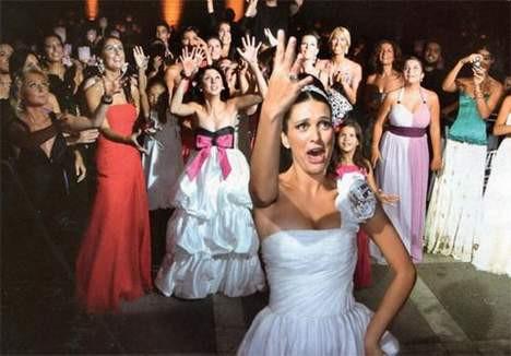 Düğünden çok özel kareler