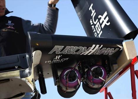 Planöre jet motoru taktı