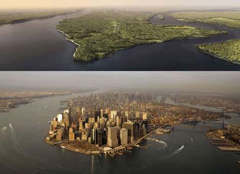 İşte 400 yıl önceki New York
