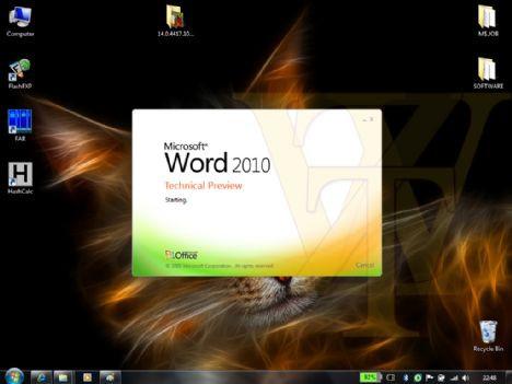 İşte yeni Office 2010