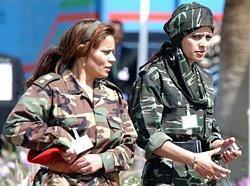 Kaddafi in kadın korumaları
