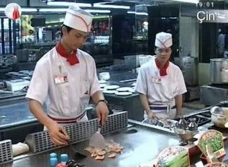 İlginç Çin yemekleri