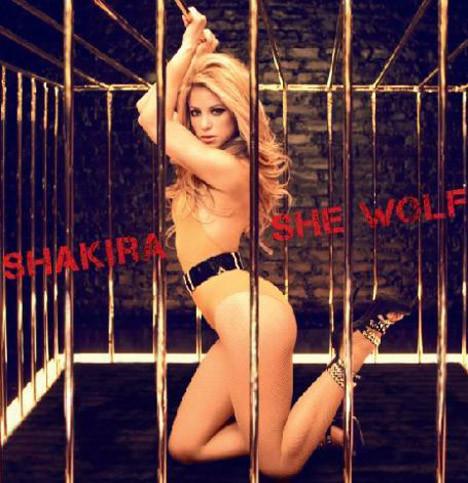 Shakiradan özel pozlar
