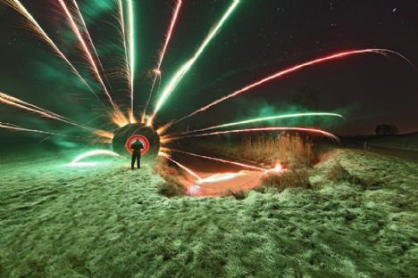 Işık hızında fotoğraflar