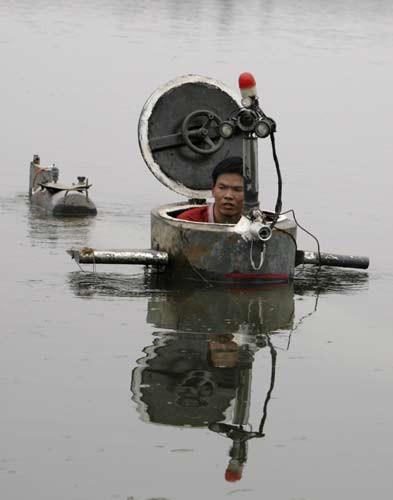 Ev yapımı denizaltı