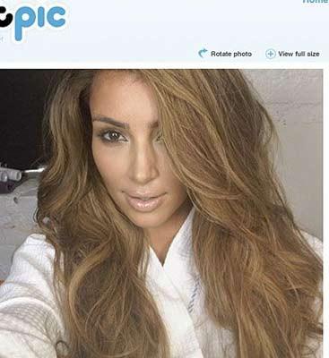 Kardashiandan özel pozlar