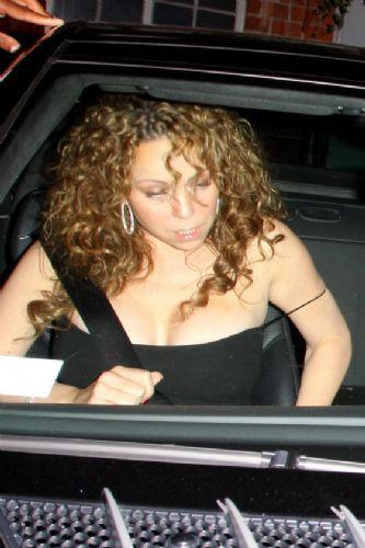 Mariah fena yakalandı