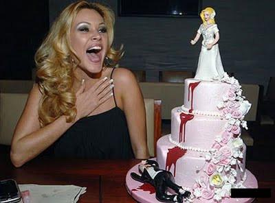 Bu da boşananlar için pasta