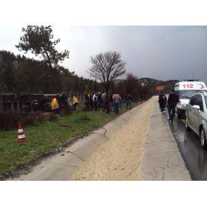 Ankarada trafik kazaları