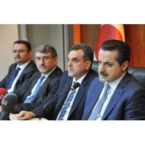 Çalışma ve Sosyal Güvenlik Bakanı Çelik, Şanlıurfada:
