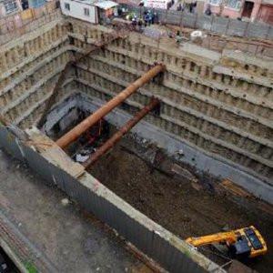 Rezidans inşaatında korkunç ölüm !