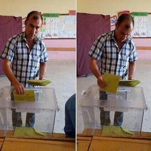 Skandal ! HDP'ye toplu oy attı