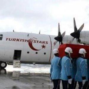 Türk Yıldızları'yla götürüldü