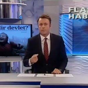 Flash TV spikerinden devlete olay tepki !