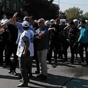 KESK üyelerine polis müdahalesi