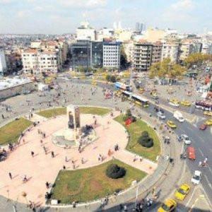 Araplar Taksim'i doldurdu !