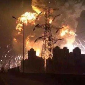 Çin'de büyük patlama: 44 ölü, yüzlerce yaralı
