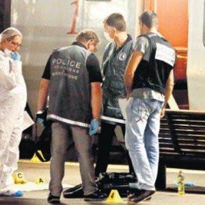 Trende katliamı yolcular önledi