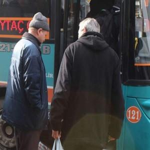 Özel halk otobüsleri için 65 yaş müjdesi !