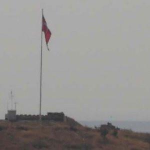 Komutan Suriye sınırında