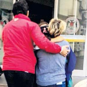 Asitli saldırıya uğrayan çocuk ilk kez görüntülendi