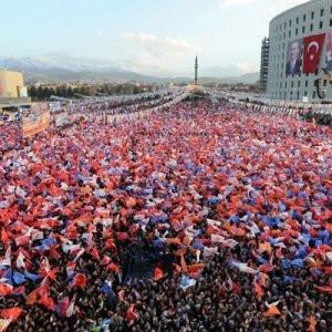 AK Parti bu 21 il ve ilçelerin tamamını aldı !