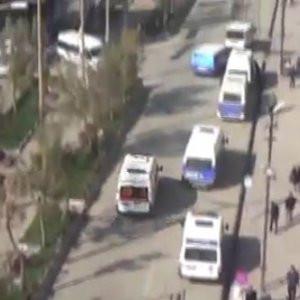 Hakkari'de patlama, 2 çocuk yaralı !