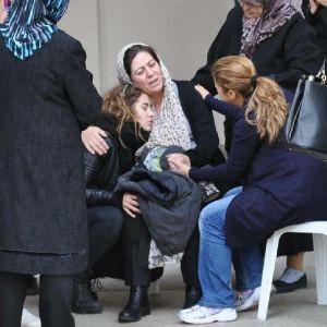 İzmir'de gözyaşları sel oldu