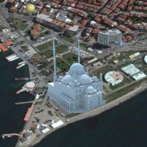 Kadıköy sahile tartışma yaratacak cami projesi !