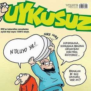 ''Erdoğan'a hakaret'' davalarına Uykusuz yorumu...