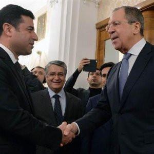 Demirtaş'tan Lavrov görüşmesi açıklaması