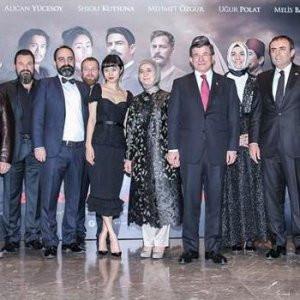 Davutoğlu ''Ertuğrul 1980'' filminin galasına...