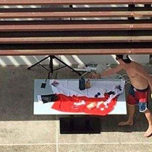 İsrail'e özül dileten fotoğraf