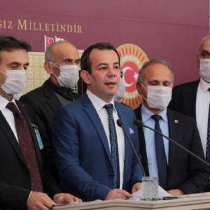 Hava kirliliği için 'maskeli' toplantı