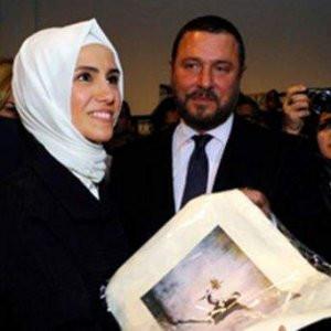 Sümeyye Erdoğan hayranlığını gizleyemedi